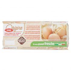 Coop-10 uova grandi fresche Italiane