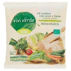 Coop-10 verdure con orzo e farro al naturale surgelate Biologico 400 g