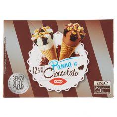Coop-12 Mini Coni Panna e Cioccolato 12 x 18,8 g