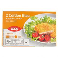 Coop-2 Cordon Bleu con prosciutto e formaggio Surgelati 250 g