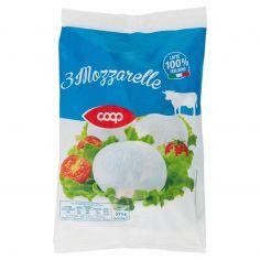 Coop-3 Mozzarelle 3 x 125 g