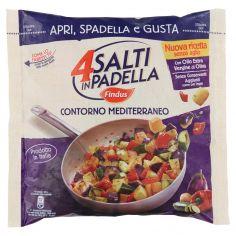 4 SALTI IN PADELLA-4 Salti in Padella Findus Contorno Mediterraneo 450g