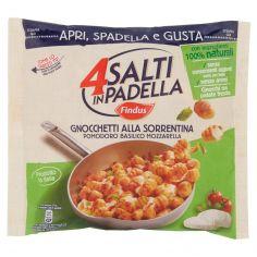 4 SALTI IN PADELLA-4 Salti in Padella Findus Gnocchetti alla Sorrentina Pomodoro Basilico Mozzarella 550g