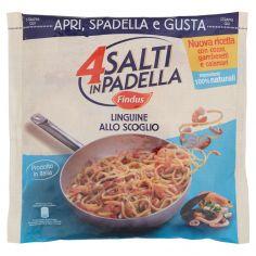 4 SALTI IN PADELLA-4 Salti in Padella Findus Linguine allo Scoglio 550g