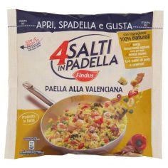 4 SALTI IN PADELLA-4 Salti in Padella Findus Paella alla Valenciana 550g