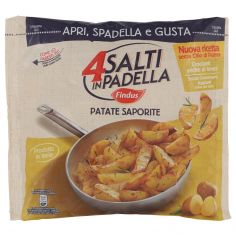 4 SALTI IN PADELLA-4 Salti in Padella Findus Patate Saporite 450g