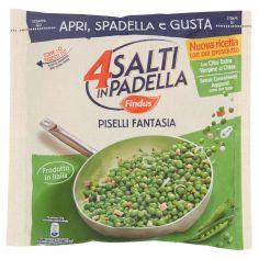 4 SALTI IN PADELLA-4 Salti in Padella Findus Piselli Fantasia 450g