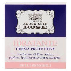 ACQUA ALLE ROSE-Acqua alle Rose Idratante Crema Protettiva Pelli Sensibili 50 ml