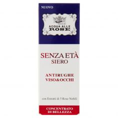 ACQUA ALLE ROSE-Acqua alle Rose Senza Età Siero Antirughe Viso&Occhi Concentrato di Bellezza 30 ml