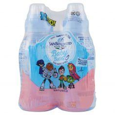 SAN BENEDETTO-Acqua Minerale San Benedetto AFS Baby Bottle Pull&Push naturale 4 x 0,25L