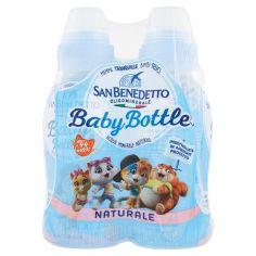 SAN BENEDETTO-Acqua Minerale San Benedetto Baby Bottle Naturale 4 x 0,25L P&P