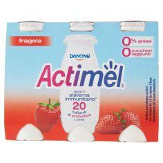 ACTIMEL-Actimel fragola 0% grassi 6 x 100 g