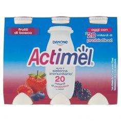 ACTIMEL-Actimel frutti di bosco 6 x 100 g