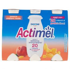 ACTIMEL-Actimel pesca - pappa reale 6 x 100 g