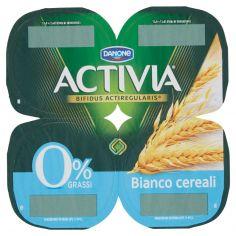 ACTIVIA-Activia 0% Grassi Bianco cereali 4 x 125 g