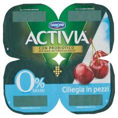 ACTIVIA-Activia 0% Grassi Ciliegia in pezzi 4 x 125 g