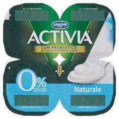 ACTIVIA-Activia 0% Grassi Naturale 4 x 125 g