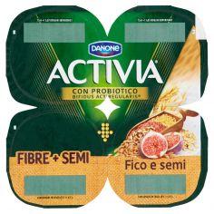 ACTIVIA-Activia Fibre + Semi Fico e semi 4 x 125 g