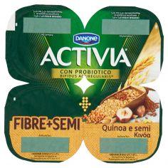 ACTIVIA-Activia Fibre + Semi Quinoa e semi 4 x 125 g