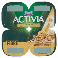 ACTIVIA-Activia Fibre Avena noci 4 x 125 g