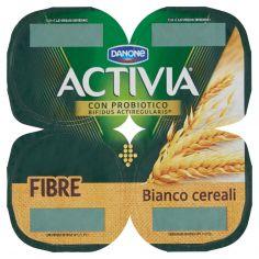 ACTIVIA-Activia Fibre Bianco cereali 4 x 125 g
