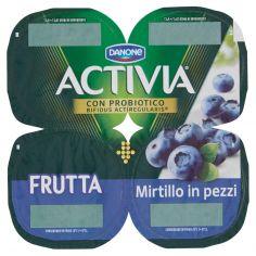 ACTIVIA-Activia Frutta Mirtillo in pezzi 4 x 125 g