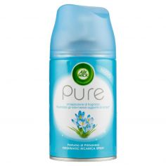 PURE-Air Wick Pure Freshmatic Ricarica Spray Profumo di Primavera 250 ml