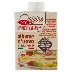 Coop-albume d'uovo Italiano 500 g