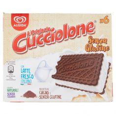 CUCCIOLONE-Algida l'originale Cucciolone Senza Glutine 6 x 50 g