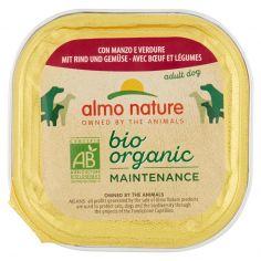 DAILY MENÙ BIO-almo nature bio organic Maintenance adult dog con Manzo e Verdure 100 g