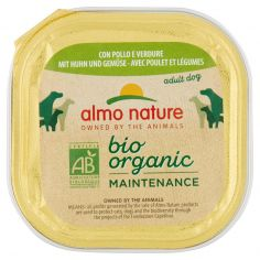DAILY MENÙ BIO-almo nature bio organic Maintenance adult dog con Pollo e Verdure 100 g