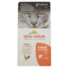 HOLISTIC-almo nature holistic Maintenance Adult Cat con Pollo Fresco 400 g
