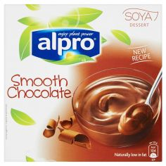 ALPRO-Alpro Soya dessert smooth chocolate 4x125 g
