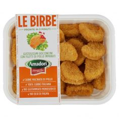 10+-Amadori Le Birbe Bocconcini di Pollo 0,500 kg