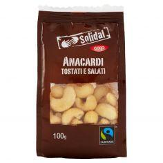 Coop-Anacardi Tostati e Salati 100 g