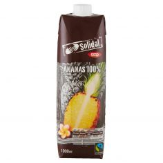 Coop-Ananas 100% 1000 ml