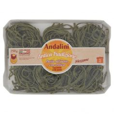 ANDALINI-Andalini Antica Tradizione Pasta all'uovo con ortica Mezzane 250 g