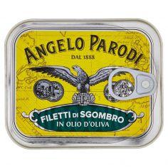 ANGELO PARODI-Angelo Parodi Filetti di Sgombro in Olio d'Oliva 230 g