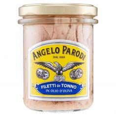ANGELO PARODI-Angelo Parodi Filetti di tonno in olio d'oliva 195 g