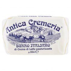 MONTANARI & GRUZZA-Antica Cremeria Burro Italiano di Crema di Latte pastorizzata 250 g