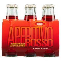 Coop-Aperitivo Rosso 6 x 100 ml