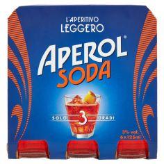 APEROL SODA-Aperol Soda 6 x 125 ml