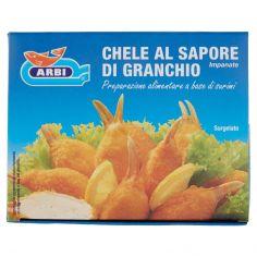 ARBI-Arbi Chele al Sapore di Granchio Impanate Surgelato 250 g