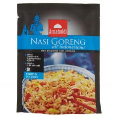 ARNABOLDI-Arnaboldi Nasi Goreng all'indonesiana riso piccante con verdure 185 g