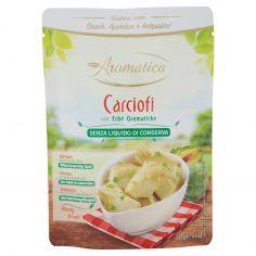 AROMATICA-Aromatica Carciofi con Erbe Aromatiche Senza Liquido di Conserva 125 g