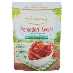 AROMATICA-Aromatica Pomodori Secchi con Erbe Mediterranee Senza Liquido di Conserva 125 g
