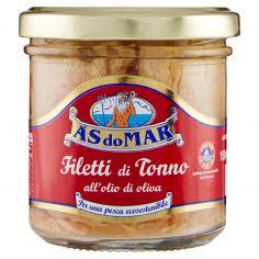 ASDOMAR-Asdomar Filetti di Tonno all'olio di oliva 150 g