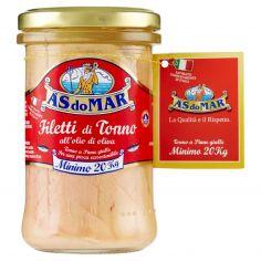 ASDOMAR-Asdomar Filetti di Tonno all'olio di oliva 250 g