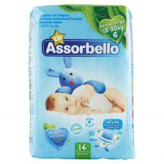 ASSORBELLO-Assorbello Up extra large 15-30 kg (taglia 6) 14 pz