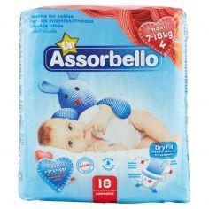 ASSORBELLO-Assorbello Up maxi 7-18 kg (taglia 4) 18 pz